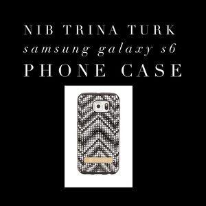 NIB Trina Turk Phone Case Samsung S6